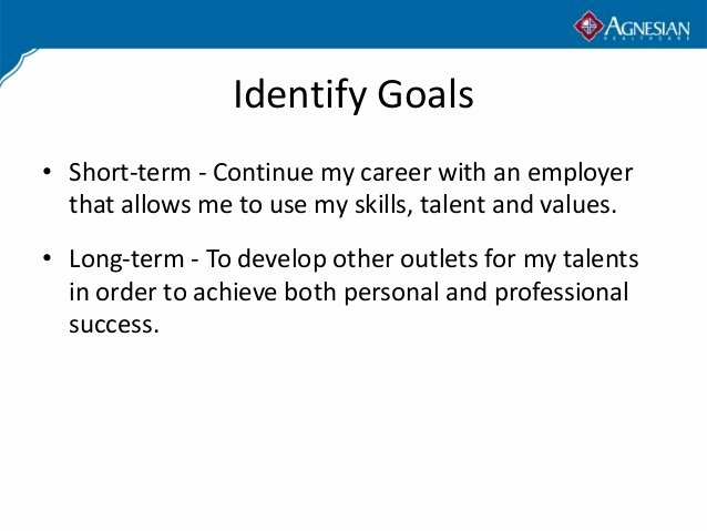 Professional Mission Statements Fresh A Personal Mission Statement In Career Goals Unique