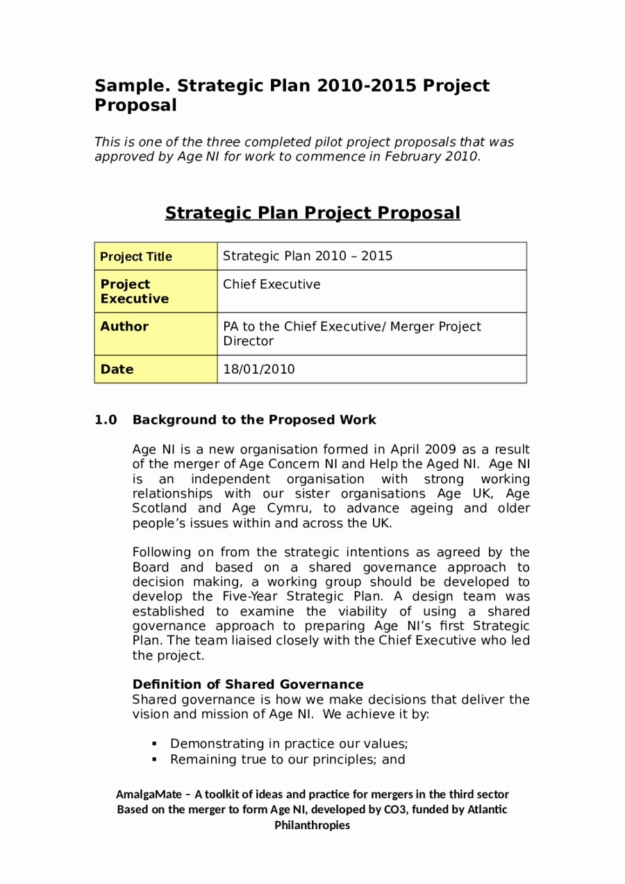 Project Proposal Outline Sample Fresh 2019 Project Proposal Template Fillable Printable Pdf