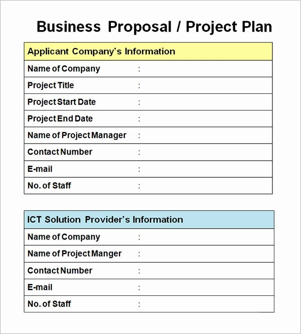 Project Proposal Outline Sample Fresh Free 30 Business Proposal Templates In Google Docs