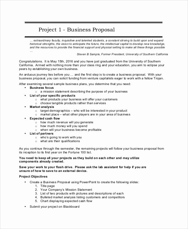 Project Proposal Outline Sample Inspirational Sample Project Proposal 20 Documents In Word Pdf
