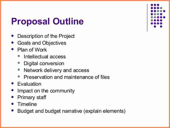 Project Proposal Outline Sample New 8 Network Project Proposal Example