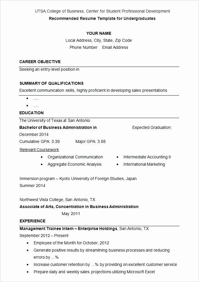 Projected Graduation Date On Resume Beautiful Expected Date Of Graduation On Resume – Airexpresscarrier
