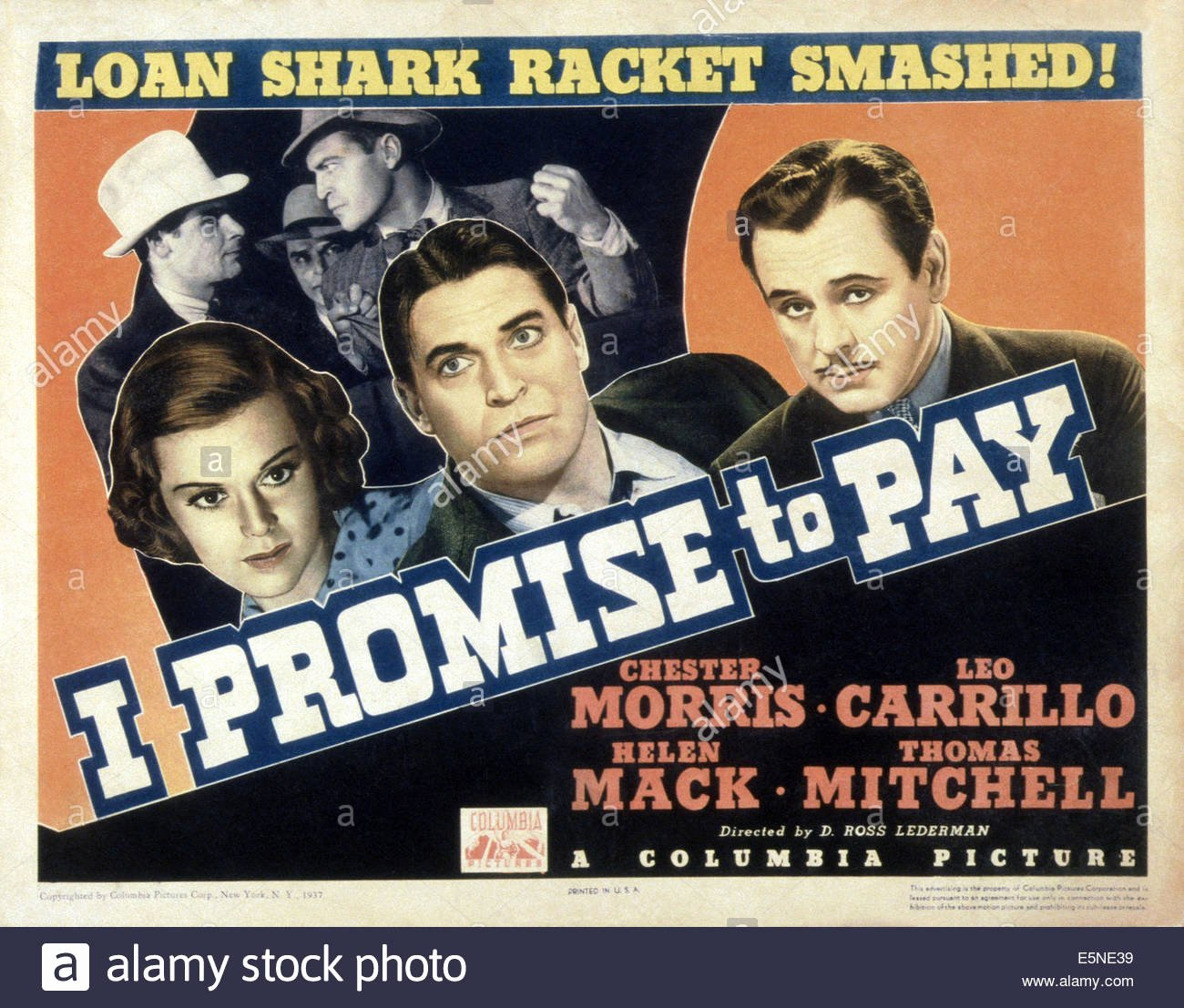 Promise to Pay Lovely I Promise to Pay Front From Left Helen Mack Chester