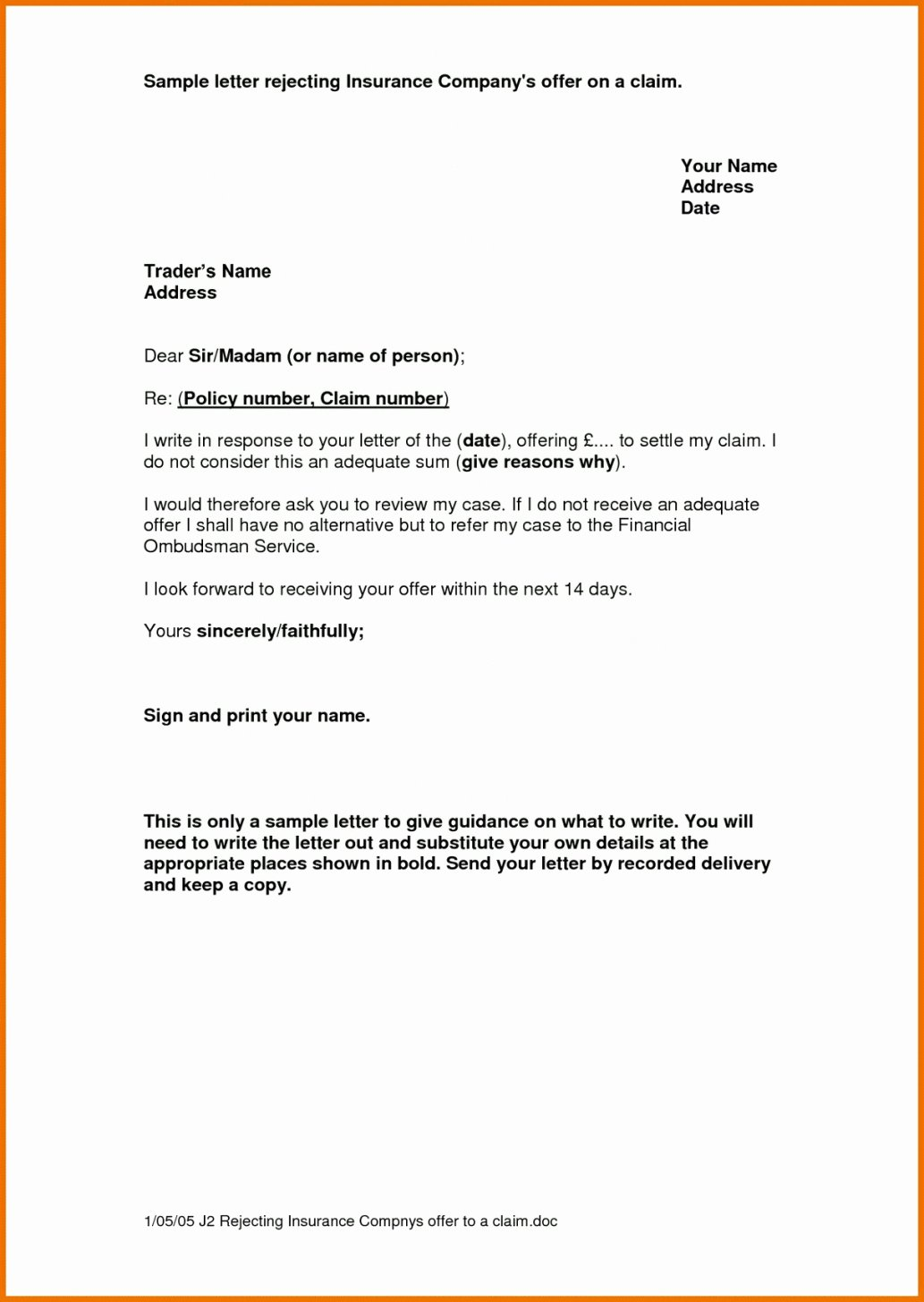 Proof Of Insurance Template Free Unique Editable Proof Auto Insurance Letter Template