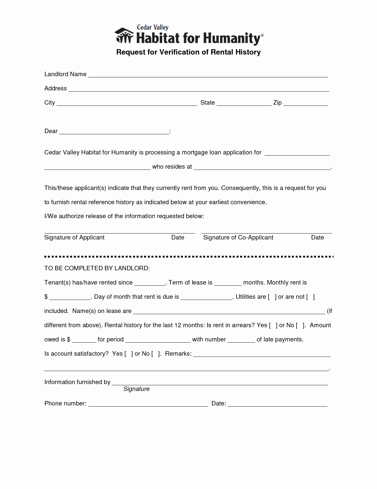Proof Of Rent Payment Letter New Best S Of Landlord Verification form Free Rental