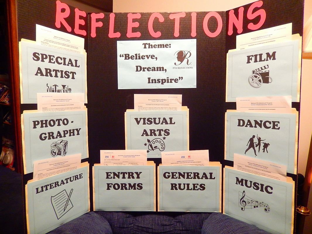 Pta Reflections Certificate Template Awesome Pta Reflections Board Google Search School Helps