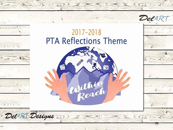 Pta Reflections Certificate Template Lovely Pta Reflections 2017 2018 theme within Reach Digital
