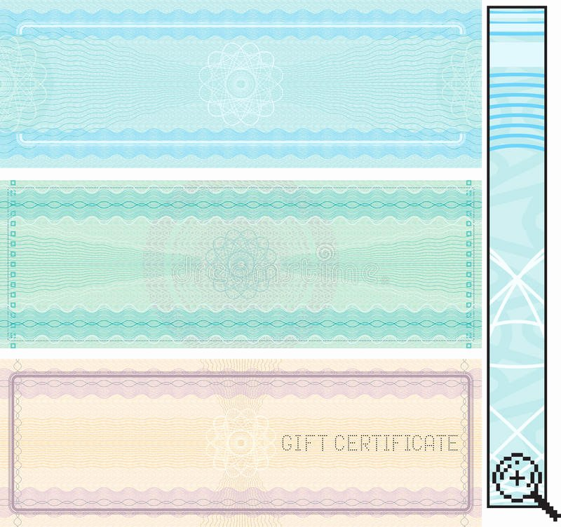 Pta Reflections Certificate Template New Certificate Template Royalty Free Stock Image