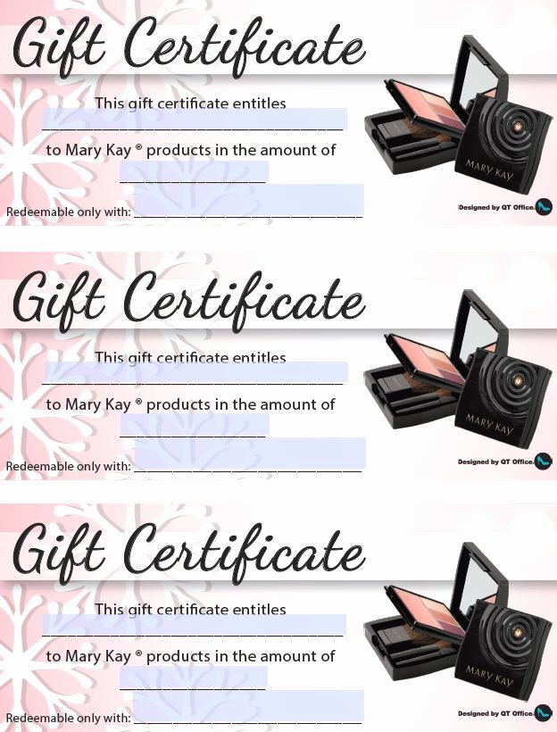 Pure Romance Gift Certificate Template Unique Anne Hanson Mary Kay Sales Diretor United States Christmas