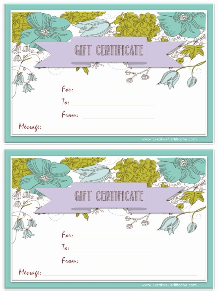 Pure Romance Gift Certificate Template Unique the 25 Best Free Printable T Certificates Ideas On
