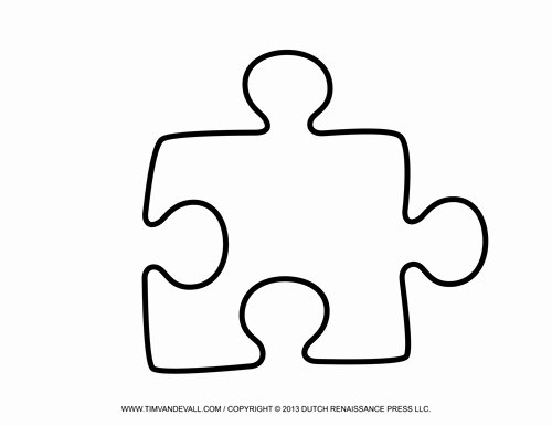 Puzzle Pieces Template Pdf Awesome Tim Van De Vall Ics & Printables for Kids