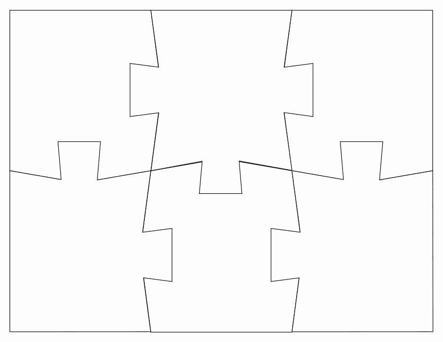 Puzzle Pieces Template Pdf Elegant 19 Printable Puzzle Piece Templates Template Lab