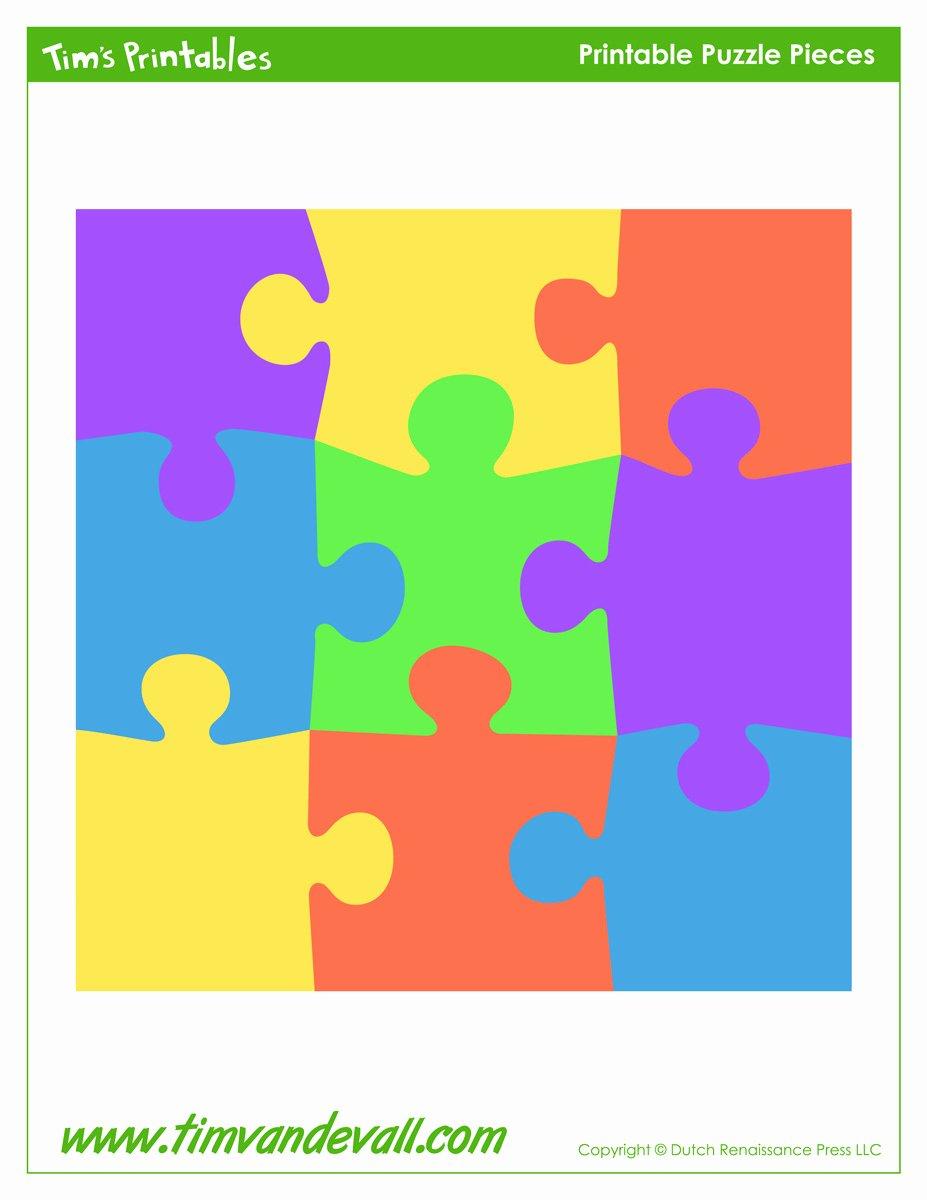 Puzzle Pieces Template Pdf Elegant Blank Puzzle Piece Template Free Single Puzzle Piece