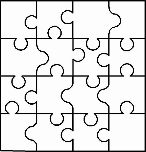 Puzzle Pieces Template Pdf Elegant Free Blank Puzzle Pieces Download Free Clip Art Free