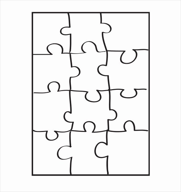 Puzzle Pieces Template Pdf Lovely Puzzle Piece Template 19 Free Psd Png Pdf formats