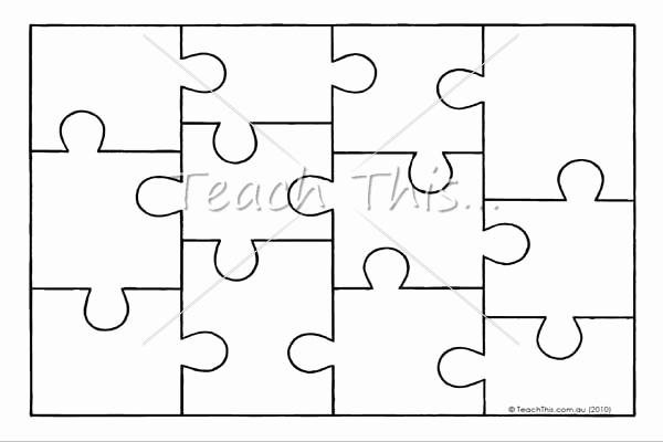 Puzzle Pieces Template Pdf Luxury Free Puzzle Template Download Free Clip Art Free Clip