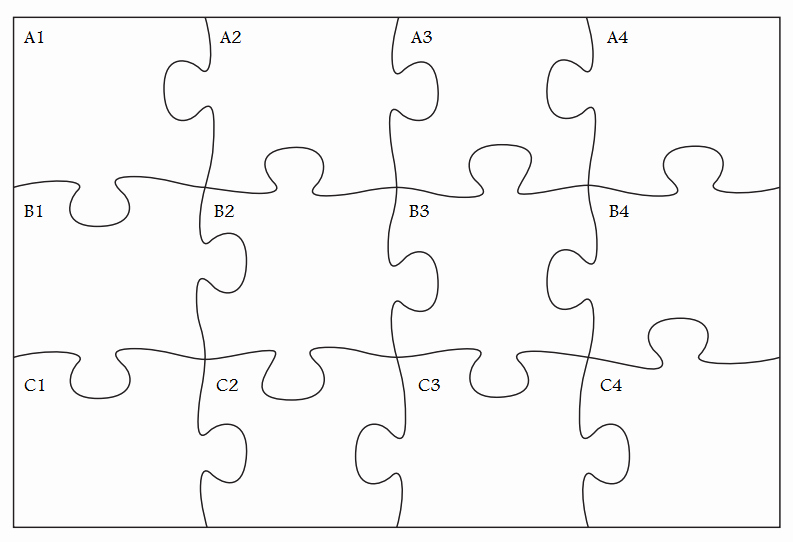 Puzzle Pieces Template Pdf New Free Puzzle Pieces Template Download Free Clip Art Free