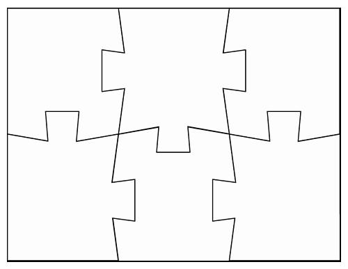 Puzzle Pieces Template Pdf Unique Puzzle Piece Template Cliparts