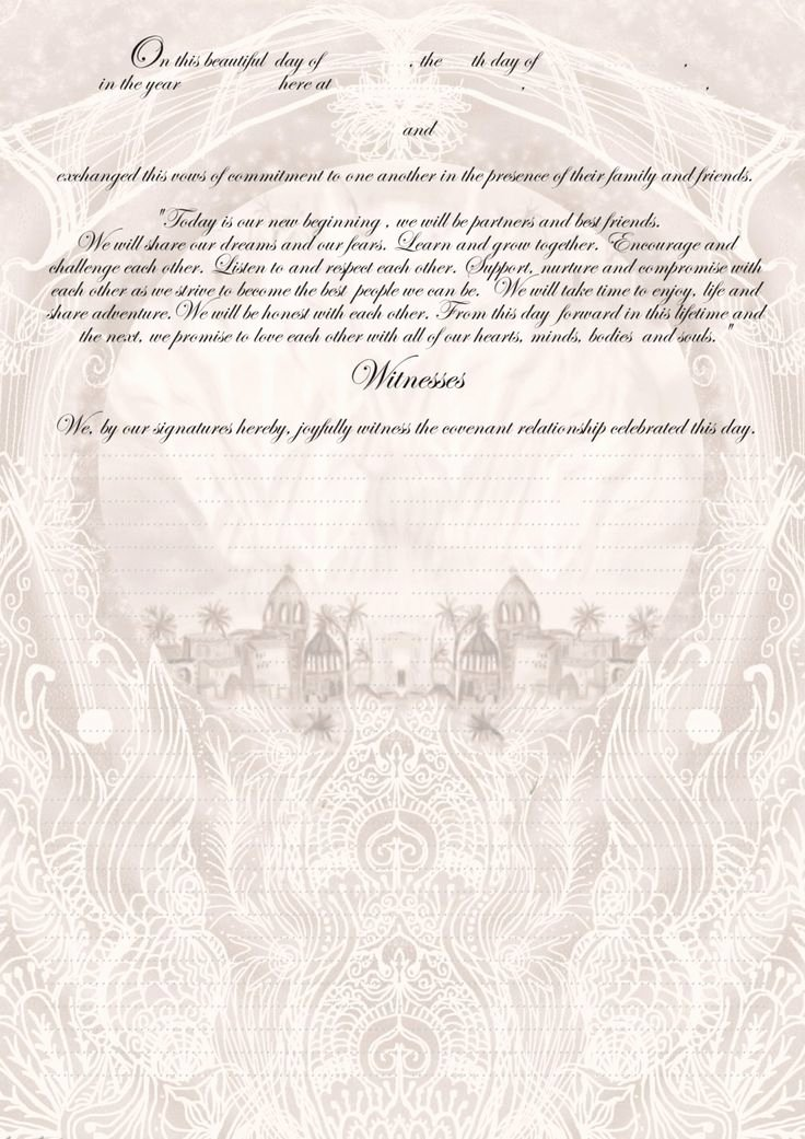 Quaker Wedding Certificate Template Best Of 11 Best Images About Marriage Certificates by