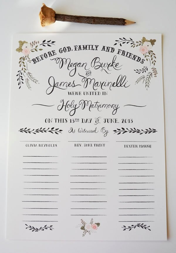 Quaker Wedding Certificate Template Unique 11 Best Quaker Wedding Certificates Images On Pinterest