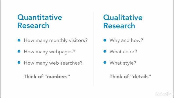 Qualitative Report Example New Quantitative and Qualitative Research for the Web