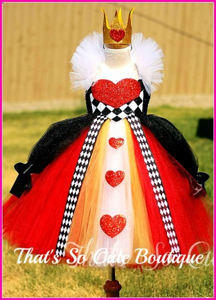 Queen Of Hearts Costume Pinterest Unique Queen Of Heart Tutu Dress Queen Of Hearts Costume