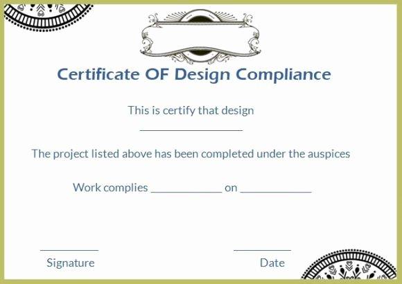 Reach Certificate Of Compliance Template Best Of 16 Best Certificate Of Pliance Images On Pinterest