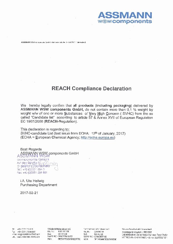 Reach Certificate Of Compliance Template Lovely Reach Pliance Declaration