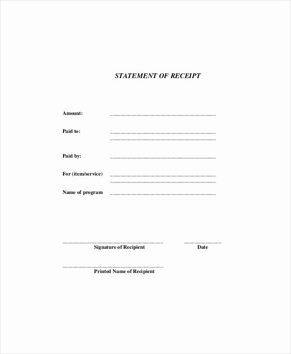 Receipt Of Documents Luxury Receipt Template 10 Free Word Pdf Documents Download