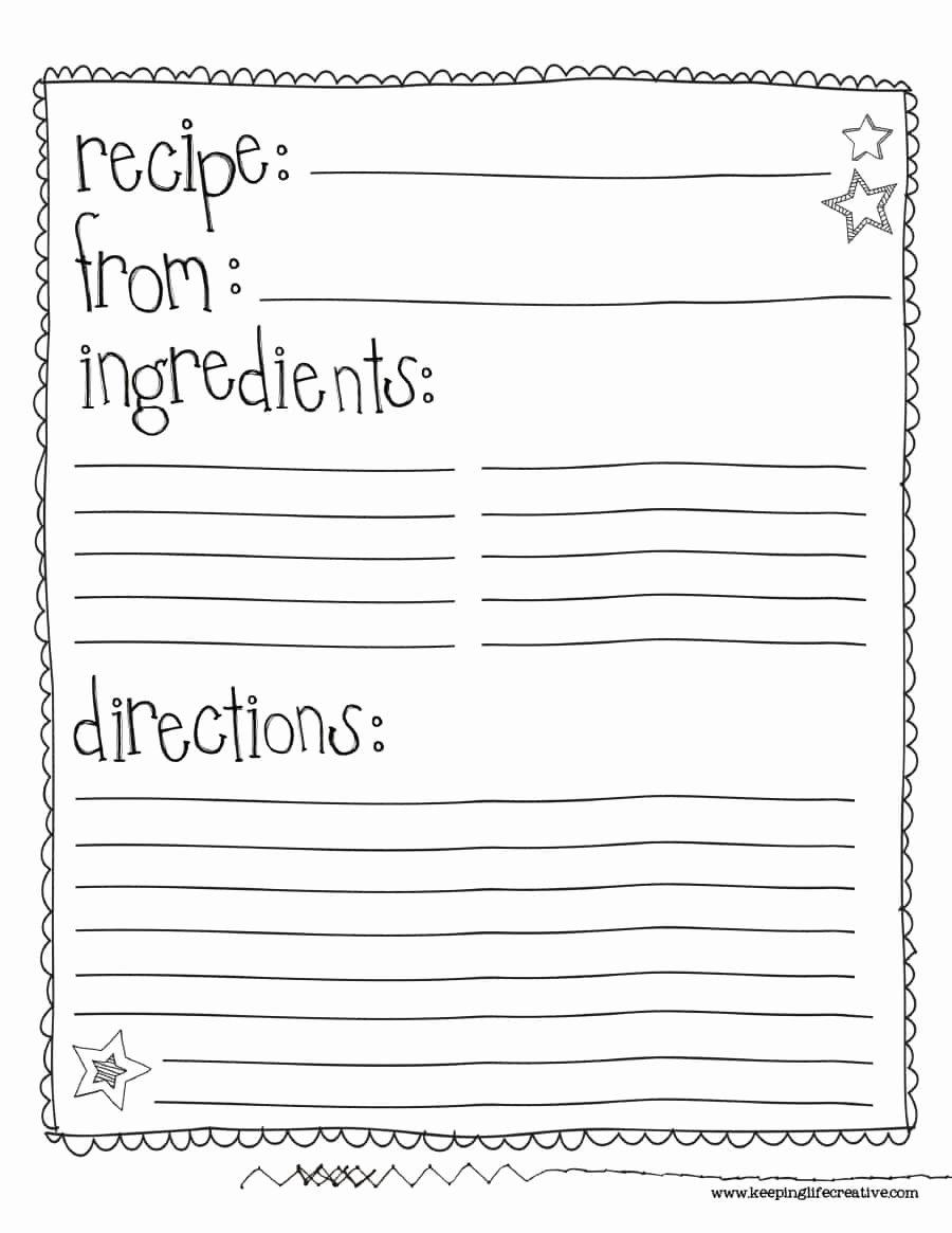 Recipe Template Microsoft Word Unique 44 Perfect Cookbook Templates [ Recipe Book & Recipe Cards]