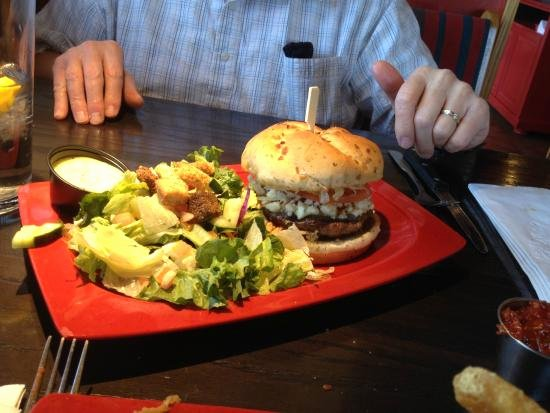 Red Robin Certificate Of Excellence Awesome Bleu Ribbon Burger Picture Of Red Robin Gourmet Burgers