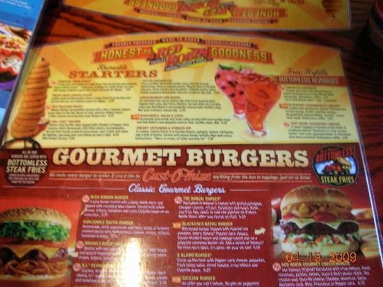Red Robin Certificate Of Excellence Awesome Red Robin Gourmet Burgers fort Myers Menu Prices