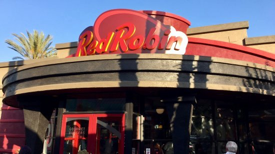 Red Robin Certificate Of Excellence Elegant Red Robin Gourmet Burgers Garden Grove Harbor