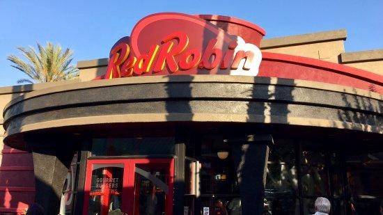Red Robin Certificate Of Excellence Elegant Red Robin Gourmet Burgers Garden Grove Harbor