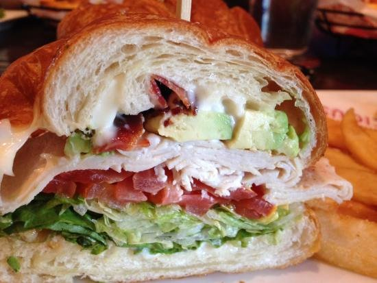 Red Robin Certificate Of Excellence Fresh Blta Croissant Picture Of Red Robin Gourmet Burgers