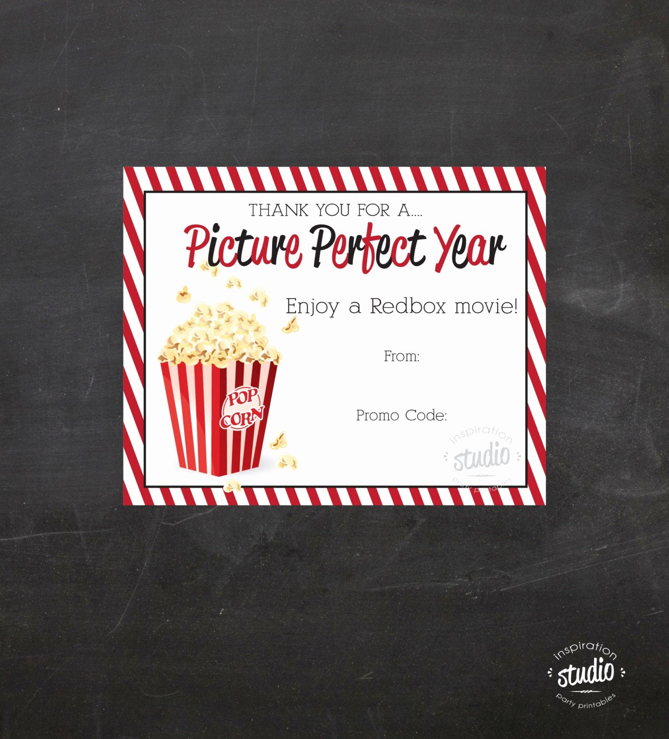Redbox Gift Certificate Template Fresh Redbox Movie Printable Use It to T Promo Codes Teacher