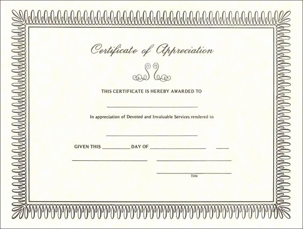 Redbox Gift Certificate Template Luxury 25 Best Ideas About Certificate Of Appreciation On