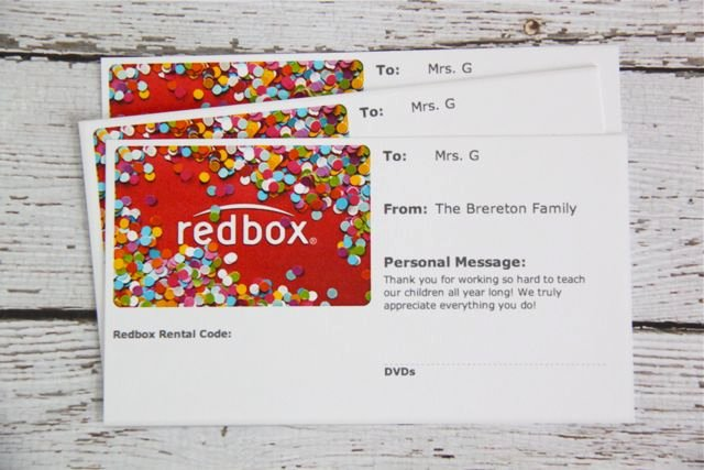 Redbox Gift Certificate Template Unique Gift Idea Movie Night In A Popcorn Box with Free