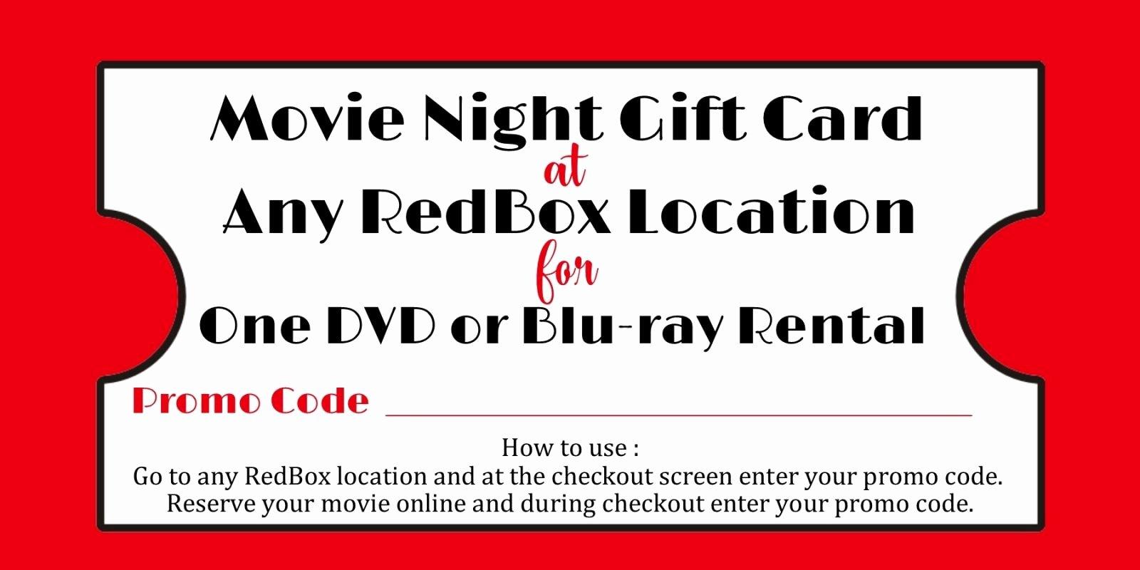 Redbox Gift Certificate Template Unique Redbox Gift Certificate Template