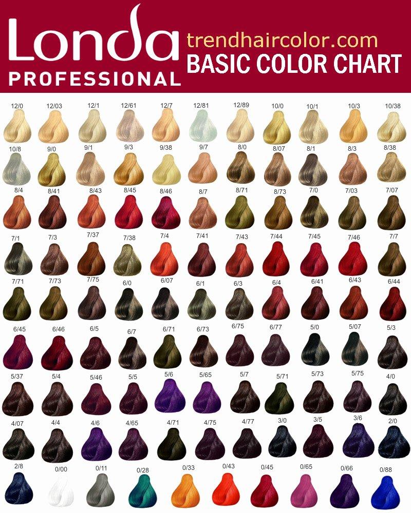 Redken Demi Permanent Hair Color Chart Luxury Londa Hair Color Chart Ingre Nts Instructions