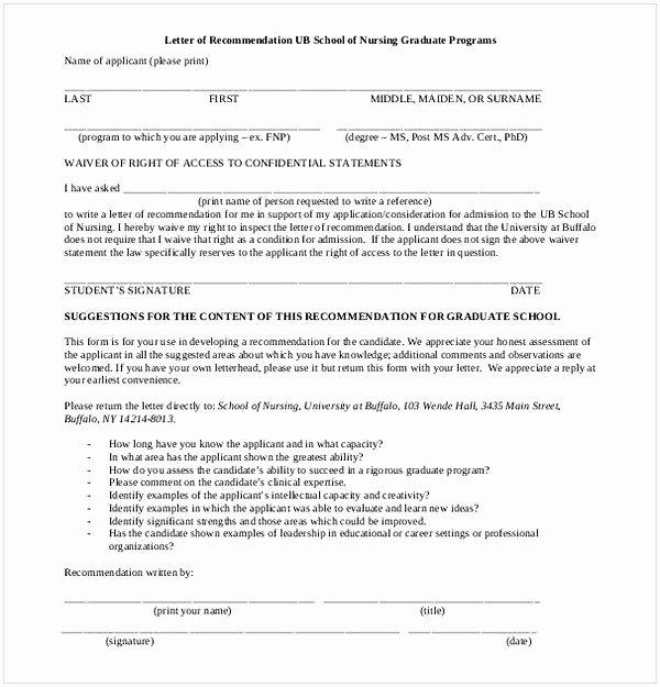 Reference Letter for Nurse Co Worker Lovely Sample Letter Of Re Mendation for Graduate School From