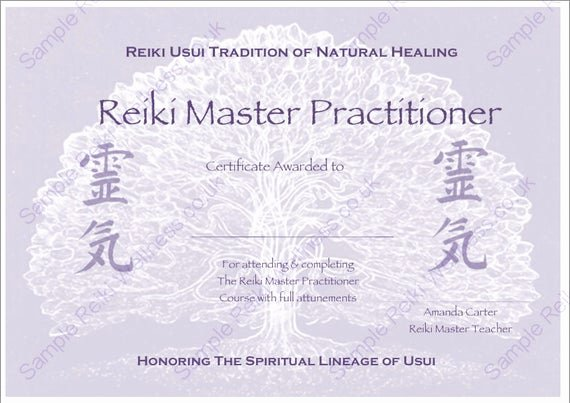 Reiki Certificate Template Free Download Lovely Download Plete Set Reiki Certificate Templates X4