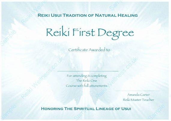 Reiki Certificate Template Free Elegant Download Plete Set Reiki Certificate Templates X4