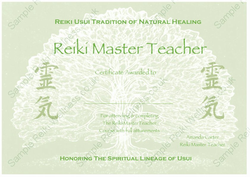Reiki Certificate Template Free Fresh Download Plete Set Reiki Certificate Templates X4