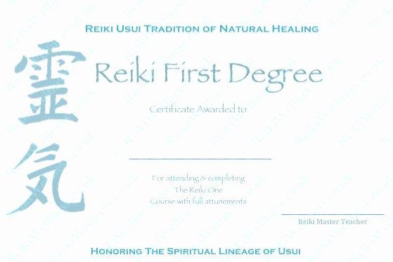 Reiki Certificate Template Free Unique Download Plete Set Reiki Certificate Templates X4