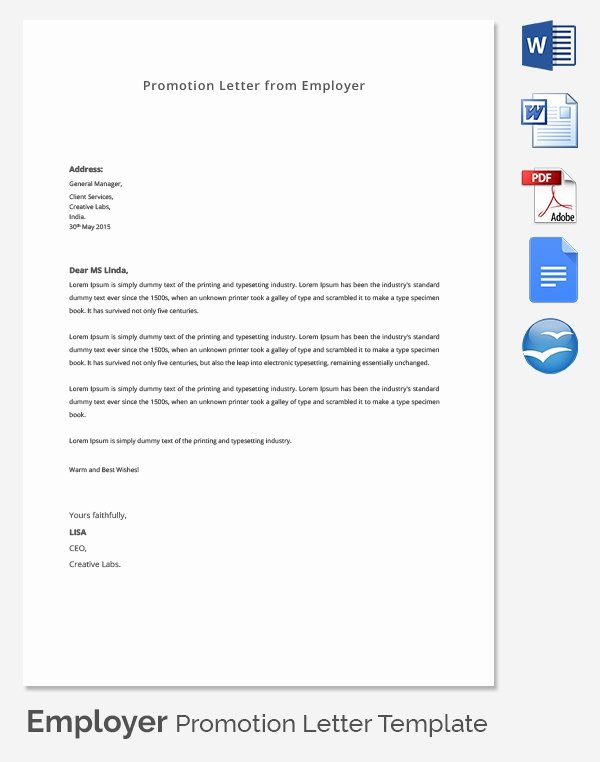 Resume for Promotion within Same Company Best Of Cover Letter Promotion within Same Pany