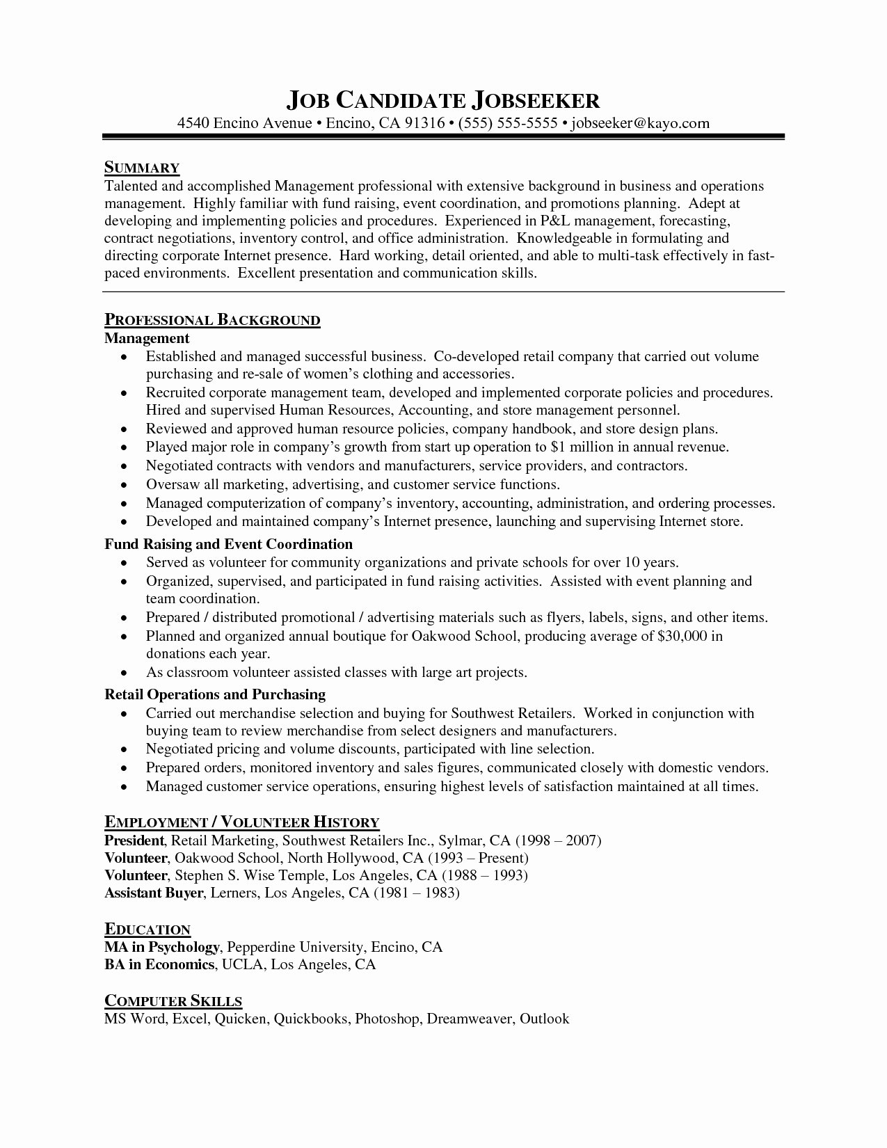 Resume for Promotion within Same Company Inspirational Sample Resume Promotion within Pany