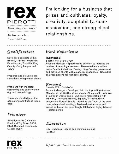 Resume Personal Branding Statement New New Example Of Resume Branding Statement