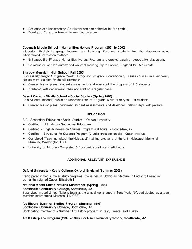 Resume with Honors Best Of Resume College Graduate Honors