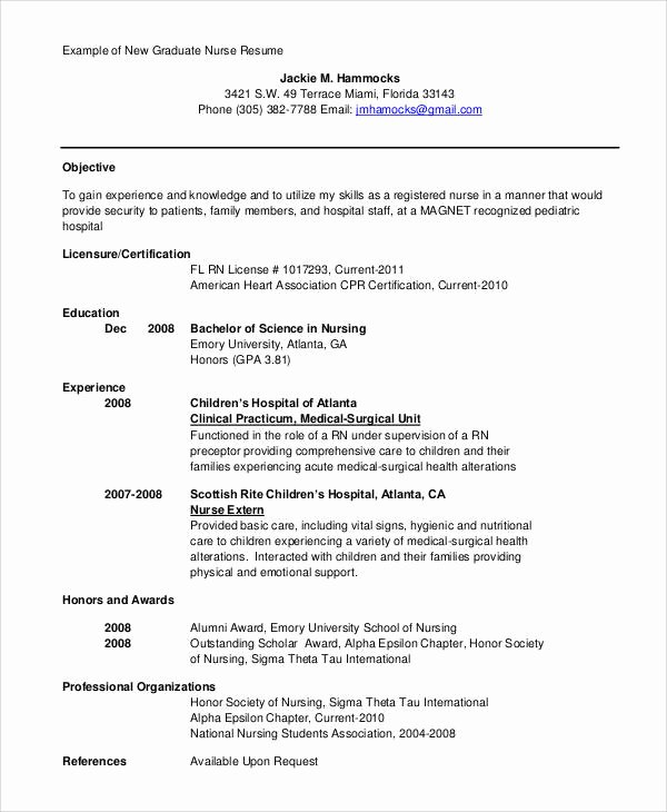 Resume with Honors Fresh 9 Sample Resume Objective Statement Pdf Doc